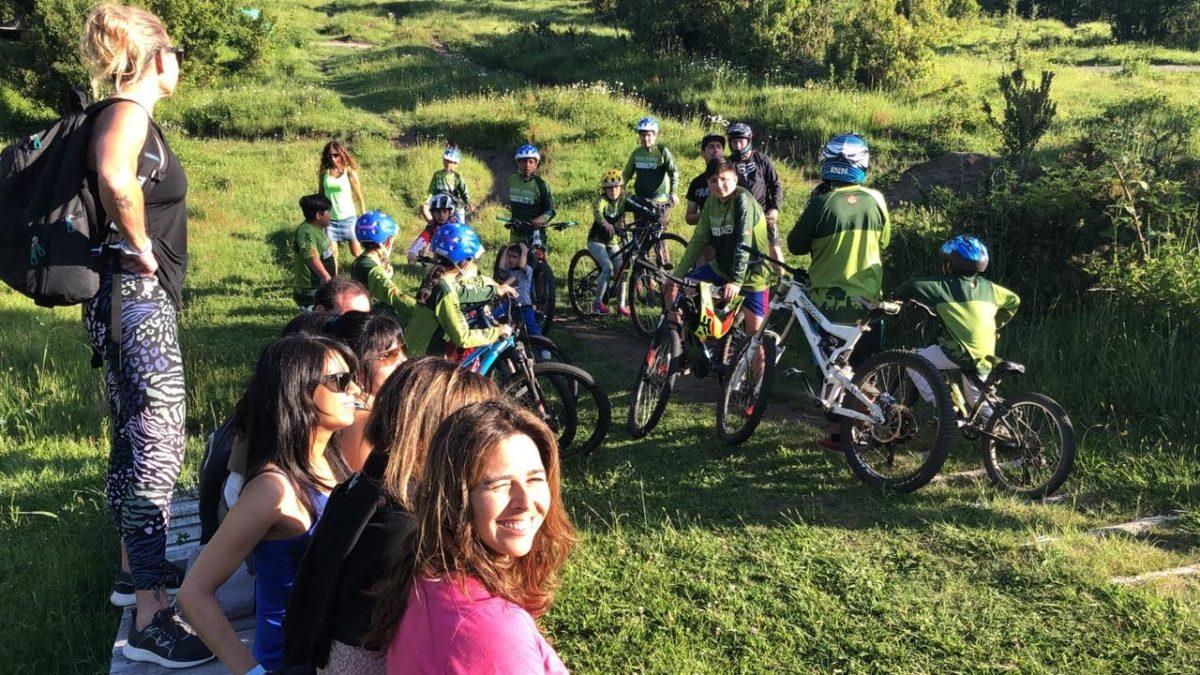 Bagualito Park y Ciclo Club Santiago se reúnen en Huilo Huilo