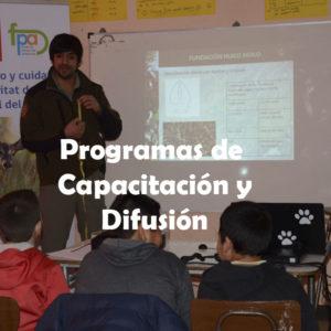 Programas de Capacitación y Difusión