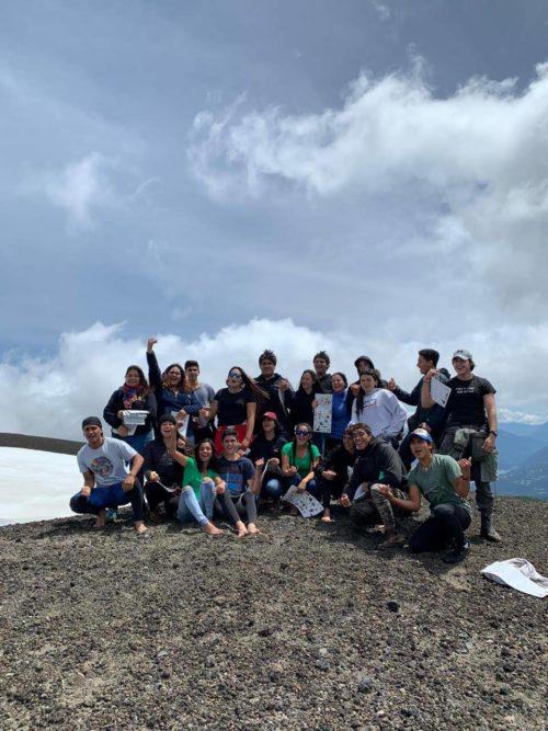 Visita de Rapanui a la Reserva Biológica Huilo Huilo