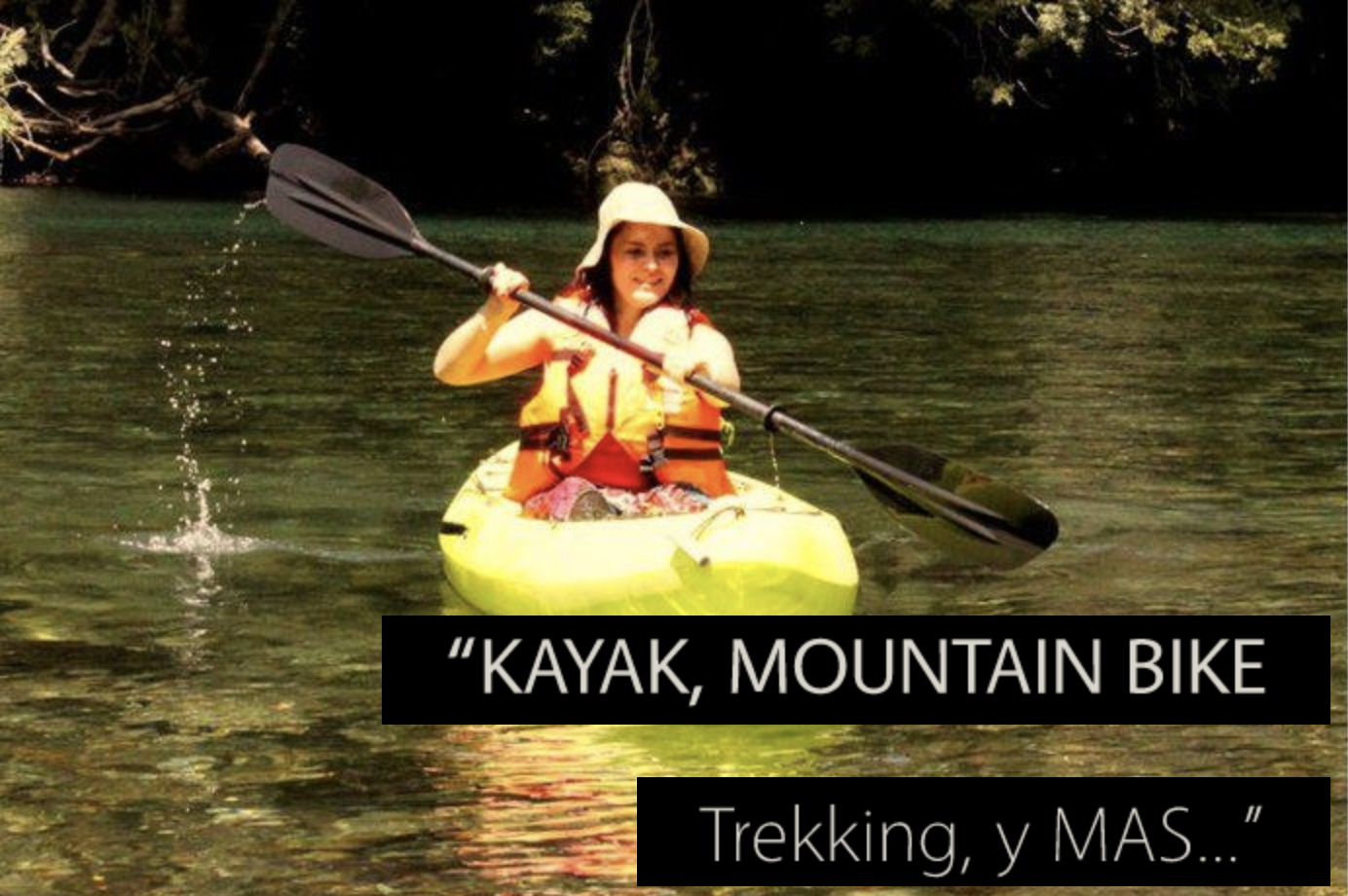 Kayaking, Mountain Biking, Trekking, and MORE