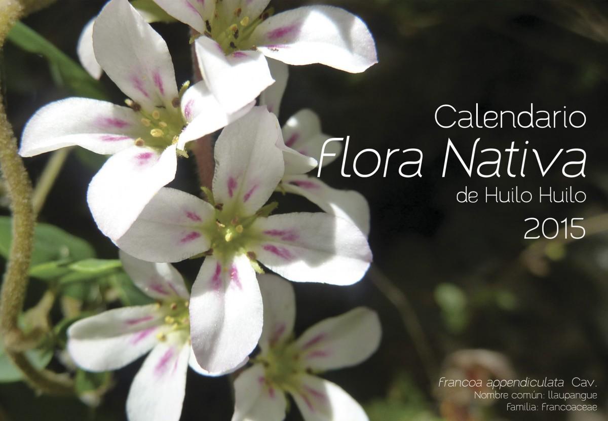 Calendario flora nativa de Huilo Huilo 2015