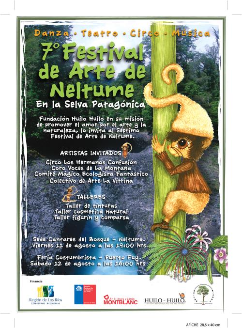 7° Festival de Artes de Neltume se presentó con música, danza y teatro.