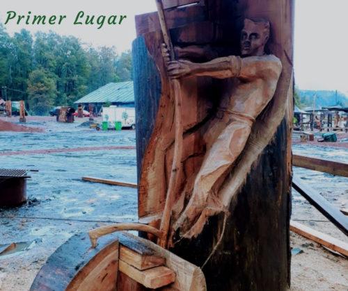 III Versión del Concurso de Esculturas: Tallando el legado maderero del territorio.