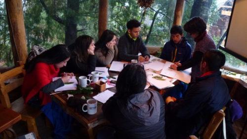 Con diversas actividades cerraron el semestre los alumnos de Turismo Ecológico del Liceo Técnico de Llifén